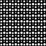 Vector naadloos hexagon abstract zwart-wit patroon Abstract Behang als achtergrond Vector illustratie Royalty-vrije Stock Afbeelding