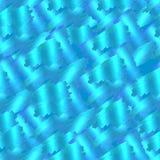Vector Naadloos Holografisch Patroon, Turkooise Blauwe Achtergrond stock illustratie