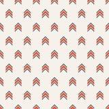 Vector naadloos kleurrijk patroon van pijlen vector illustratie