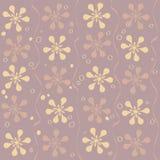 Vector naadloos mooi bloempatroon Royalty-vrije Stock Foto