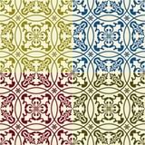 Vector naadloos oostelijk patroon Stock Fotografie