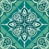 Vector naadloos oosters patroon Royalty-vrije Stock Afbeeldingen