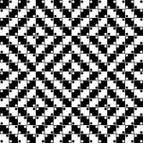 Vector Naadloos Optisch Patroon Royalty-vrije Stock Foto's