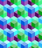 Vector naadloos patroon Royalty-vrije Stock Afbeeldingen