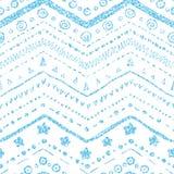 Vector naadloos patroon Stock Fotografie