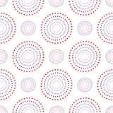 Vector naadloos patroon Abstract Feestelijk ontwerpconcept als achtergrond in traditionele Amerikaanse rode kleuren -, wit, blauw vector illustratie