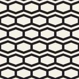 Vector naadloos patroon Abstract geometrisch Ontwerp als achtergrond Modieus Rooster Texturen Royalty-vrije Stock Afbeelding
