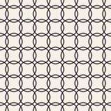 Vector naadloos patroon Abstract geometrisch Ontwerp als achtergrond Modieus Rooster Texturen Stock Fotografie