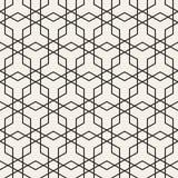Vector naadloos patroon Abstract geometrisch Ontwerp als achtergrond Modieus Rooster Texturen Stock Foto