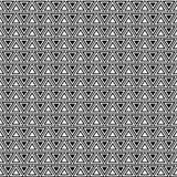 Vector naadloos patroon Abstracte geometrische textuur Zwart-witte achtergrond Zwart-wit driehoekig ontwerp royalty-vrije illustratie