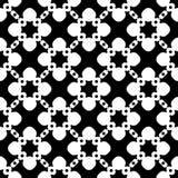 Vector naadloos patroon, bloemen geometrische textuur Stock Foto