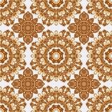 Vector naadloos patroon in bohostijl Royalty-vrije Stock Foto