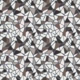 Vector naadloos patroon in de vorm van een verscheidenheid Royalty-vrije Stock Afbeeldingen