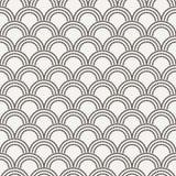 Vector naadloos patroon in de vorm van vlokken Stock Afbeelding