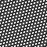 Vector naadloos patroon, diagonale netwerktextuur, rooster, weefsel, royalty-vrije illustratie