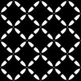 Vector naadloos patroon, diagonale roostertextuur Stock Fotografie