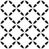 Vector naadloos patroon, diagonale roostertextuur Royalty-vrije Stock Foto