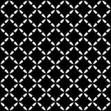 Vector naadloos patroon, diagonale roostertextuur Royalty-vrije Stock Afbeelding