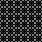 Vector naadloos patroon, diagonale roostertextuur Stock Afbeelding