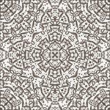 Vector naadloos patroon die kant imiteren Stock Foto's