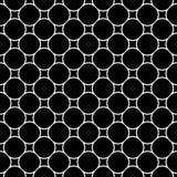 Vector naadloos patroon, eenvoudig geometrisch ornament Royalty-vrije Stock Foto's