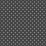Vector naadloos patroon, eenvoudig geometrisch ornament royalty-vrije illustratie