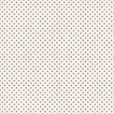 Vector naadloos patroon Eenvoudige minimalistische geperforeerde textuur, Royalty-vrije Stock Fotografie