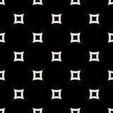 Vector naadloos patroon Eenvoudige minimalistische textuur, geperforeerd r Stock Afbeeldingen