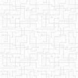 Vector naadloos patroon - elektronische kring schem Stock Fotografie