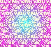 Vector naadloos patroon, geometrische achtergrond Stock Fotografie