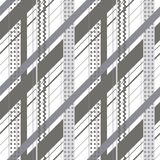 Vector naadloos patroon, grafische illustratie Stock Afbeeldingen