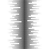 Vector naadloos patroon, horizontale rijen van punten Stock Fotografie
