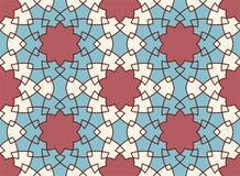 Vector naadloos patroon Kleurrijk etnisch ornament Arabesquestijl Islamitisch art Stock Afbeeldingen