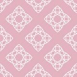 Vector naadloos patroon in in lineaire stijl Stock Afbeeldingen