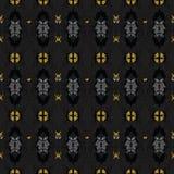 Vector naadloos patroon met abstracte bloementexturen stock illustratie