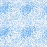 Vector naadloos patroon met bloemen Illustratie van bloemenachtergrond Royalty-vrije Stock Foto's