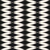 Vector naadloos patroon met gebogen vormen, netwerktextuur, vlot net Stock Afbeeldingen