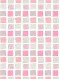 Vector naadloos patroon met gekleurde hand getrokken vierkanten Royalty-vrije Stock Fotografie