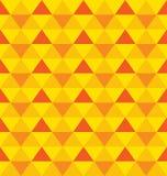 Vector naadloos patroon met geometrisch ornament stock illustratie