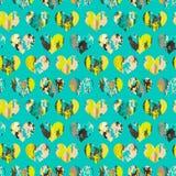Vector naadloos patroon met harten Royalty-vrije Stock Fotografie
