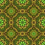 Vector naadloos patroon met helder ornament Royalty-vrije Stock Afbeeldingen