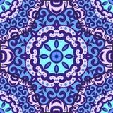 Vector naadloos patroon met helder ornament Royalty-vrije Stock Afbeelding