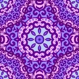 Vector naadloos patroon met helder ornament Stock Fotografie