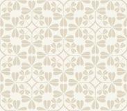Vector naadloos patroon met klaverbladeren Royalty-vrije Stock Foto's