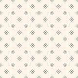 Vector naadloos patroon met kleine diamantvormen, uiterst kleine rhombuse Royalty-vrije Stock Foto