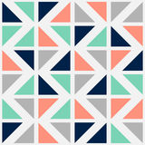 Vector naadloos patroon met kleurendriehoeken Royalty-vrije Stock Fotografie