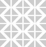 Vector naadloos patroon met kleurendriehoeken Stock Foto