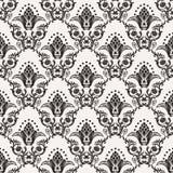 Vector naadloos patroon met kunstornament voor stock illustratie