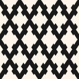 Vector naadloos patroon met ruiten, diagonaal rooster, netwerk Royalty-vrije Stock Foto