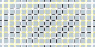 Vector naadloos patroon met vierkanten Abstracte achtergrond met geometrische cijfers De eindeloze textuur kan voor behang worden royalty-vrije illustratie